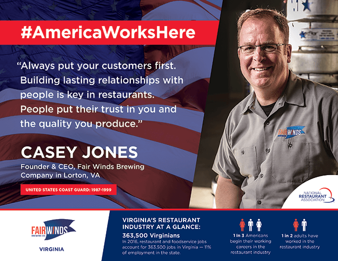 Casey Jones | America Works Here